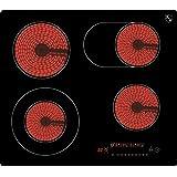 K&H® 4 Zonen Glaskeramikkochfeld 59cm Elektro Autark rahmenlos NC-7206
