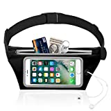 """Azacus Waist Pouch for Mobile Phones, Screen Size up to 6"""", with Extra"""