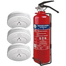 Smartwares 10.033.71 Kit de Seguridad contra Incendios