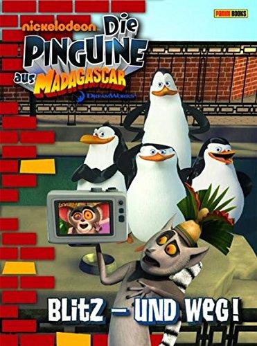 Preisvergleich Produktbild Die Pinguine aus Madagascar,  Band 1: Blitz und weg!: Erstlesebuch