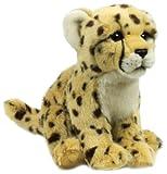 WWF Plüsch Kollektion WWF12687 - Plüschfigur Gepard Sitzend 23 cm, Plüschtiere