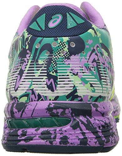 Asics Women' s gel-noosa Tri 11scarpe da corsa Patina Green/Flash Yellow/Violet
