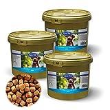 Lyra Pet Dog 3 x 4 kg Junior im Eimer Premiumfutter Welpenfutter Trockenfutter