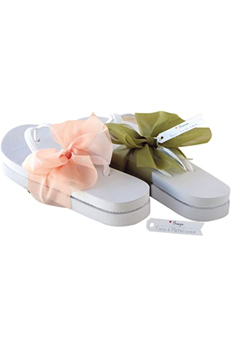 Lote 20 Pares de Chanclas Talla 38 Novia Bodas Frase Gracias por Acompañarnos: Amazon.es: Zapatos y complementos