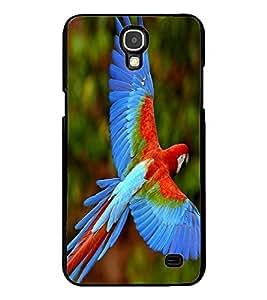 ColourCraft Beautiful Parrot Design Back Case Cover for SAMSUNG GALAXY MEGA 2