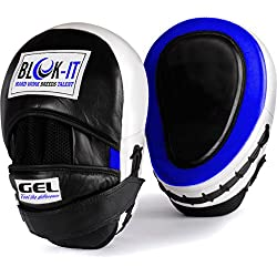 Manoplas Boxeo con GEL : Por BLOK-iT (Azul)