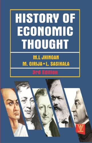 History of Economic Thought (English Edition) por M.L. Jhingan