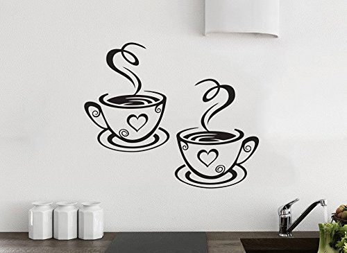 2-coffee-cups-kitchen-wall-tea-sticker-vinyl-decal-art-restaurant-pub-decor-love-by-wall4stickers