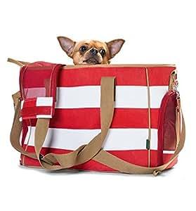 hunter hundeflugtasche hundetasche sylt r gen maritim tragetasche f r hunde reisetasche f r. Black Bedroom Furniture Sets. Home Design Ideas