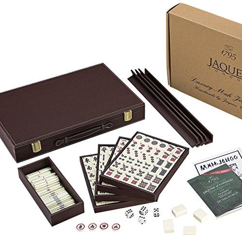 Conjunto Mah Jongg - Conjunto de lujo Club Mahjong - Jaques de Londres desde 1795