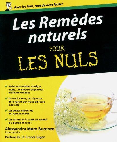 Remèdes naturels pour les Nuls