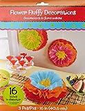 "fun-filled Fiesta Cinco de Mayo party soffici decorazioni floreali, carta, 40,6cm 16"" Multicolor"