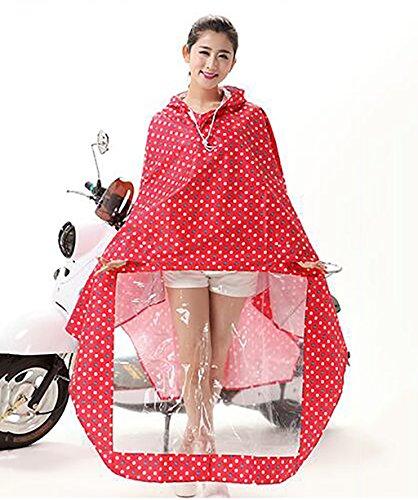 LHP Regenponcho Reiten Regenmantel Elektro Auto Motorrad Oxford Stoff Poncho Boy Girl ( Farbe : 5# , größe : XXXL ) 1#