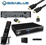GigaBlue Trio UHD 4K 1x DVB-S2x & 1x DVB-C/T2 Bundle inkl. 1000GB HDD u. 600Mbit WLAN