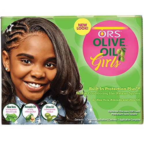 ORS. Olive Oil Girls Conditioning Relaxer System Normal - Olive Oil Relaxer