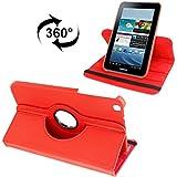 Étui et housse pour tablette, 360 Housse en cuir Degree Rotation Lichi Texture avec...