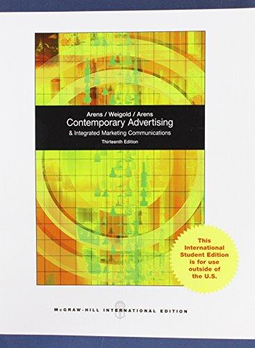 Contemporary Advertising por William F. Arens