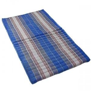 Matelas Thai pliable - Pouf - Capoc/coton - XL - Early Beach 190x110x8cm - Thai 41