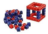 Unbekannt Dick-System, Steckwürfel 100 Stück, Rot-Blau – Bausteine zum Konstruieren, Bauen und Rechnen