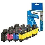 Fimpex Compatible Encre Cartouche Remplacement pour Brother DCP-110C DCP-111C...