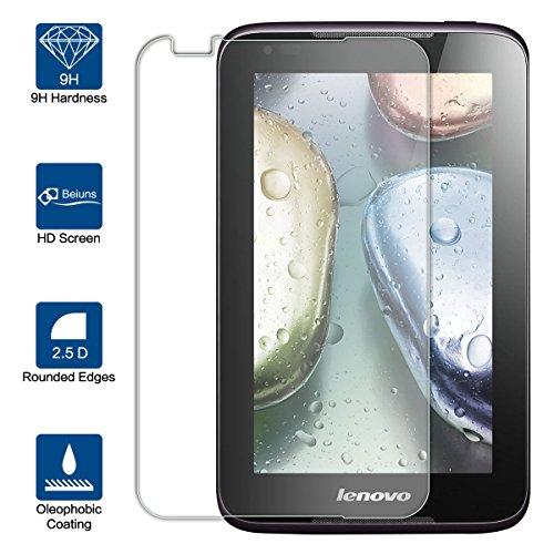 Beiuns Displayschutzfolie aus Hartglas für Lenovo A1000 (Smartphone) (4 Zoll)