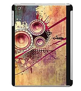 MUSIC Designer Back Case Cover for Apple iPad Mini
