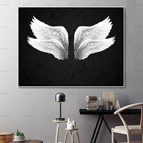 NIMCG Quadro Quadro su Tela Wall Art Ali Poster Home Quadro Decorativo per Camera Quadri murali per Soggiorno R3 (Senza Cornice) R3 60x90CM