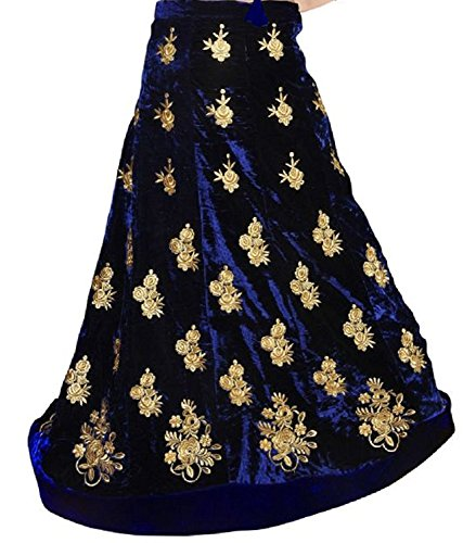 Drashti-Villa-Womens-Semi-Stitched-Heavy-Lehenga-choli-With-Dupatta-Dress-material-Free-Size-Festival-Special-Sale