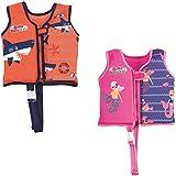 Bestway Swim Safe Schwimmjacke, mit Textilbezug, für Kinder 3-6 Jahre (M/L), sortiert