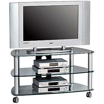 pharao24 tv wagen auf rollen glas k che haushalt. Black Bedroom Furniture Sets. Home Design Ideas