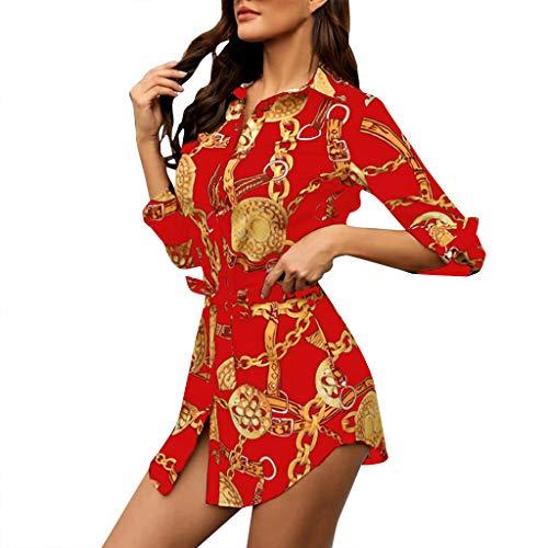SSUPLYM Langarm-Hemdkleid,Sommerkleid Damen Casual Langes T-Shirt Kleid Lose Tunika Kurzarm Rundhals Minikleid Ärmeln Blusenkleid Hemdkleid Wickelkleider Shirtkleid Langarm (Drink Hoodies Rockstar Energy)