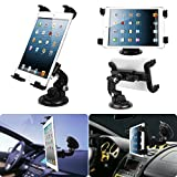 #2: PERFECT SHOPO Universal 7-10 Inch Tablet Car Windshield Car Holder Mount Cradle For Hyundai Grand i10