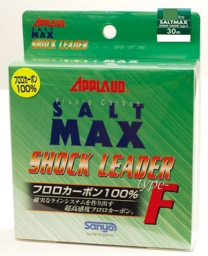 sanyo-nylon-salt-max-shock-leader-fluoro-30m-50lb-sports-goods-by-sanyo