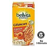 Belvita Breakfast Biscuits Crunchy Apricot (6x50g) 300g