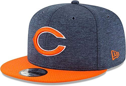 New Era NFL Chicago Bears Authentic 2018 Sideline 9FIFTY Snapback Home Cap, Größe :S/M -
