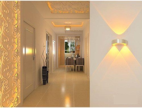 Soloo applique in alluminio a led luce ambiente gradevole per