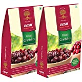 OOSH Dried Whole Cranberry (500 Grams : 2 packs of 250g each)