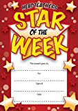 16 A6 Headteachers Star of The Week Certificates