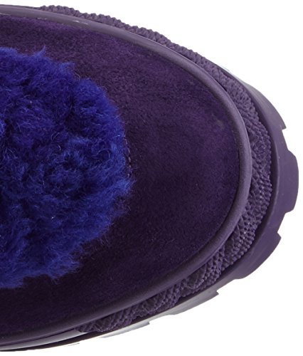 Casadei 2rv58, Bottes Classics de hauteur moyenne, doublure chaude femme Violet - Violett (Eggplant)