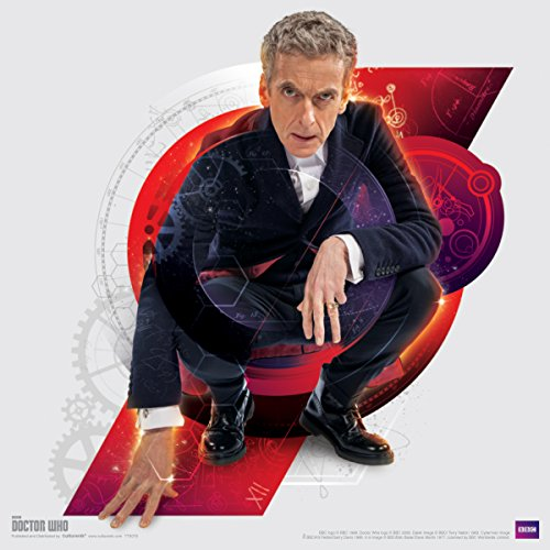 Culturenik Doctor Who Die Zwölfte Doctor Peter Capaldi hockend, Sci FI British TV Television Show Poster Print 12x 12 (Hang Time-tv-serie)