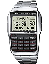 Casio Collection – Reloj Unisex Digital con Correa de Acero Inoxidable – DBC-32D-1AES