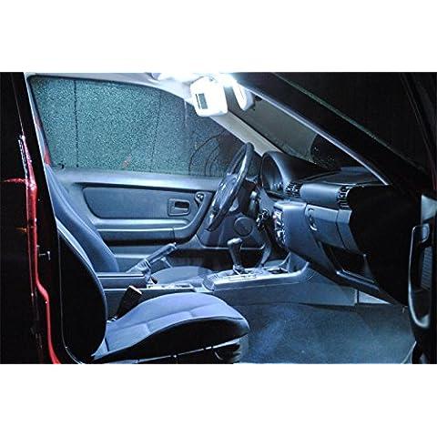 7x LED iluminación interior Opel Astra H OPC Caravan Lámparas Bombillas blanco trasero