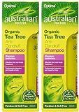 (2 Pack) - Australian Tea Tree - Anti Dandruff Shampoo | 250ml | 2 PACK BUNDLE by AUSTRALIAN TEA TREE