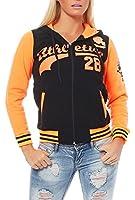 Classic College-Style Jacke Streetwear Urban Oldschool 2115 Damen