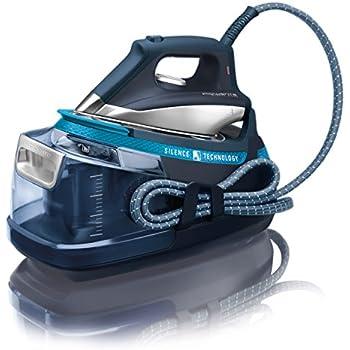 Rowenta DG8961F0 Centrale Vapeur Silence Steam Extrême - Silencieuse et Puissante - Cuve Haute Pression 6,5 Bars - Pressing 420g/min - Bleu