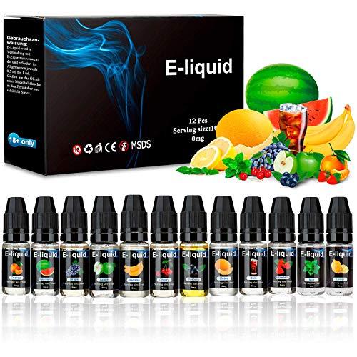 E-liquidos, E Liquido Vaper Sin Nicotina 12 x 10 ml