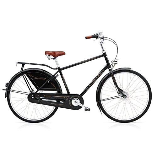 Electra Amsterdam Royal 8i Herren Fahrrad Schwarz Stadt Holland Rad Retro City Mens, 73130001215