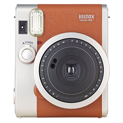Fujifilm Instax Mini 90 Neo Classic Kamera Braun (80 Kamera Film Polaroid)