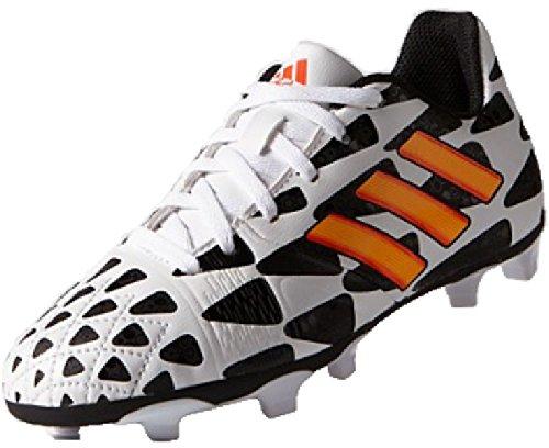 adidas World Cup Nitrocharge 3.0 FG Scarpa da Calcio Ragazzo Nero/Bianco/Arancione