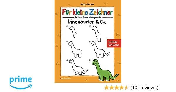 Für kleine Zeichner - Dinosaurier & Co.: Zeichnen lernen leicht ...